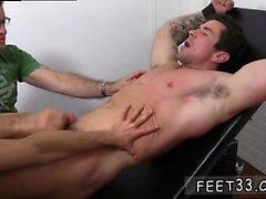 Eşcinsel ayaklar film Trenton Ducati Bound & d Tickle