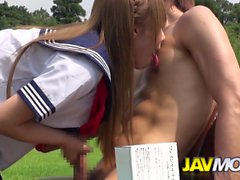 Outdoor Blowjob Party