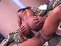 Black whore gets licked pussy nailed