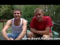 Homosexuell Teen Träume wahr in der bang