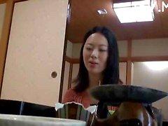Aziatische meisje Plagen Video