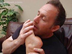 IWF Lesbian Foot Orgy