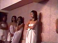 HEISSES Thai Modellen sexy Gruppe Wettbewerbs Voll nackten