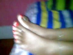 latina sexc toenails