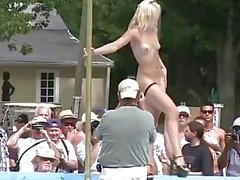 amateur nudists and strippers all around