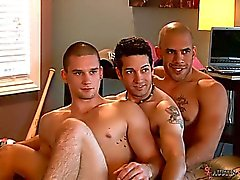 On the set with Austin Wilde, Anthony Romeros and Silas
