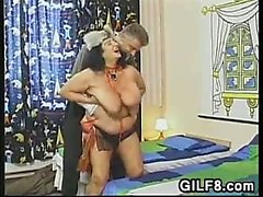 Fat And Wild European Grandma Wants Sex