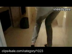 Jeans Pants Wetting at Clips4sale