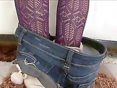 Tätowiertes Mya Nichole bekommt anal