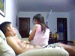 Brazilian GF Homemade Sex