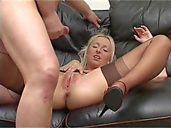 Brit Nylon Stocking Milf Pt 02
