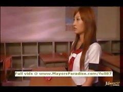 Kirara Asuka невиновные китайцы школьница получает киска облизываемая