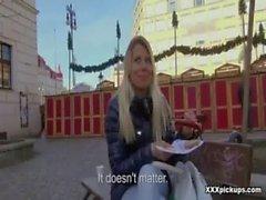 Czech Amateur Sexy Slut Fucked In Public 01