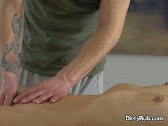 Petite Client Erin Has Hot Fun With Masseur