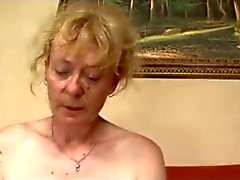Hair saggy gray tits hairy granny