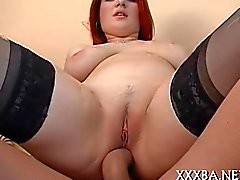 Goth doll ravishes a hard pecker