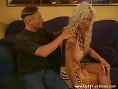 Gammal holländsk Blond Whore Fucked Hard