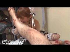 Amatör Çirkin Guy ile Şirin Japonya Porno Kız