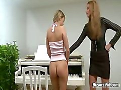 Two smocking hot sexy brunette horny part1