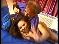 Mixed Wrestling Barbara (Femdom)