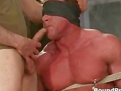 Parlatılacak dostum gözleri bağlanmış ve bağlı homoseksüel part3