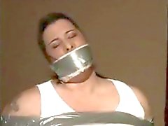 Big Busted and gagged