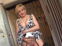 British MILF Caught In The Lift