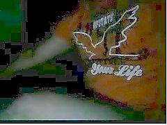 Rak killar fötter webbkamera # tre
