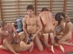 Hot German Orgy