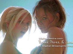 Artistic Lesbian Video