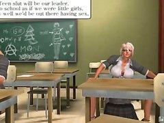 Tranny School fantasy from a member of pinkvisualgames