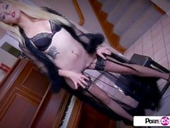 PornstarTease - Watch Irirs Rose tease you and masturbate only for you