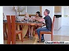 (christie mary) Slut Cheating Housewife Banged Hard Style mov-07