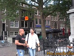 Echte niederländische Hooker geschliffen