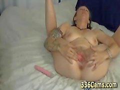 Tatoo Teenager Pussy Play On Webcam