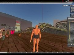 Britbong Streams: Second Life Trolling 08Aug2015 (too edgy for youtube)