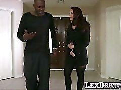 Super sexy pornstar Mischa Brooks is getting her ass destroyed hardcore