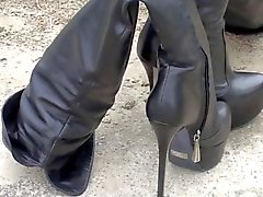 platfrom thigh boots