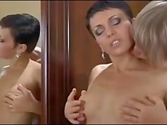 Hot mom Viola capture and seduces a boy