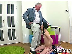 Sex lesson with concupiscent teacher
