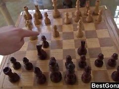 BestGonzo Sexy black gf on a hot strip chess