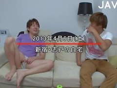 Busty Japanese boobs teased