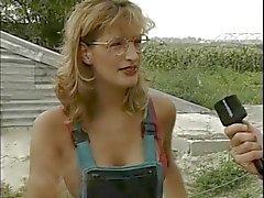 Woman deep throat video