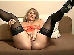 Mature blonde needs directions