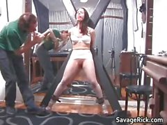 Kinky brunette hoe Brianna gets her tiny part6