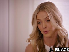 Two Beautiful Blonde Girls Share a BBC