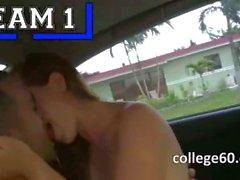 Tenn college girls copulate in cars