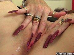 My favorite videos of British granny Zadi