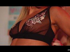 A GIRL KNOWS - Russian lesbian Katrin Tequila fucks sensual Hungarian Sicilia