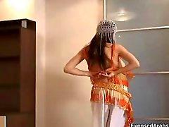 Azgın Arap oryantal dans sürtük